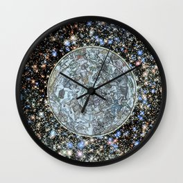 Hubble meets history. Wall Clock