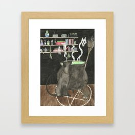 Witches Kitchen Framed Art Print