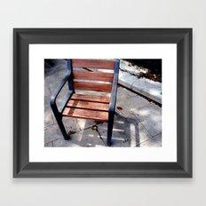 La Silla Framed Art Print