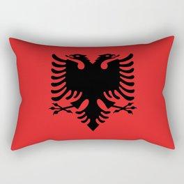 Flag of Albania - Authentic version Rectangular Pillow