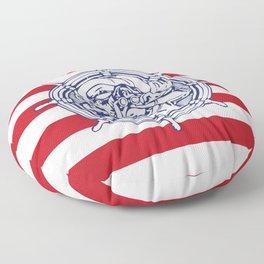 Sail Away With Me Floor Pillow