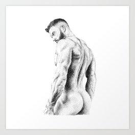 Kevin 2 - Nood Dood Art Print