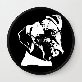 CHRISTMAS GIFTS FOR BOXER DOG LOVERS Wall Clock