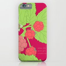 When life gives you raspberries... Slim Case iPhone 6s
