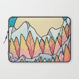 Autumnal mountain lands Laptop Sleeve