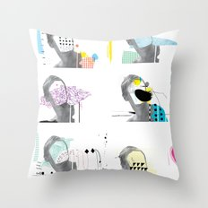 State of Mind Throw Pillow