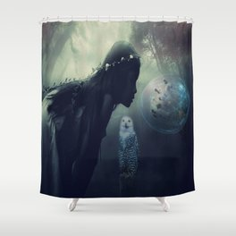 Scent of wisdom Shower Curtain