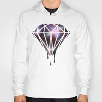 diamond Hoodies featuring Diamond by jeff'walker
