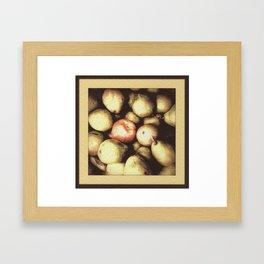 One Bad Apple... Framed Art Print