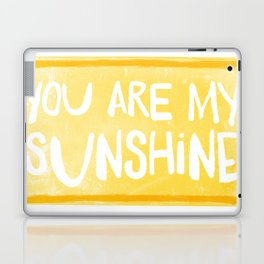 My Sunshine Love Laptop & iPad Skin
