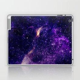 Ultra violet purple abstract galaxy Laptop & iPad Skin