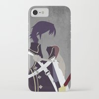 fire emblem iPhone & iPod Cases featuring Chrom Fire Emblem Awakening by MKwon