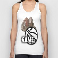 game of thrones Tank Tops featuring GAME  by Robleedesigns