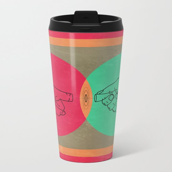 Pull your finger out  Metal Travel Mug