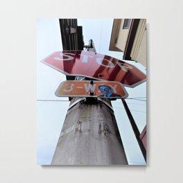 Small Town Vibes 2 Metal Print