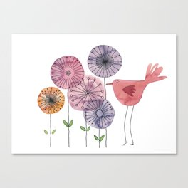 the daily creative project: birdy Canvas Print