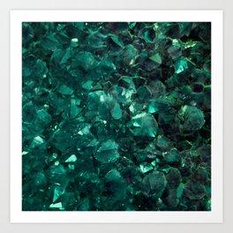 Emerald Art Print