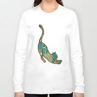 jewish Long Sleeve T-shirts featuring I love you, kitten by Brown Eyed Lady