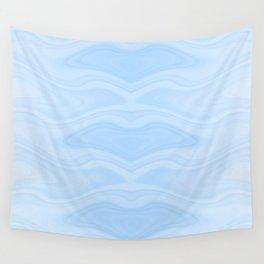 Abstract Manta Ray Wall Tapestry