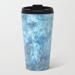 MYSTICAL BLUE WINTER Travel Mug