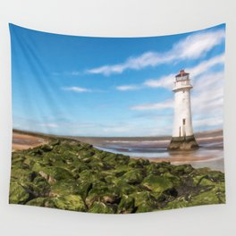 Black Rock Lighthouse Wall Tapestry