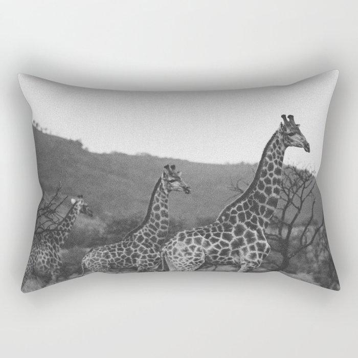 Kaleidoscope of Giraffes Rectangular Pillow