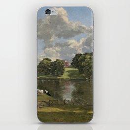 John Constable Wivenhoe Park, Essex 1816 Painting iPhone Skin