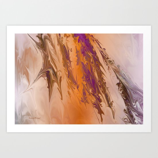 Abstract In July Art Print