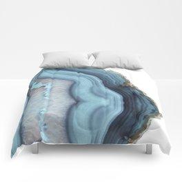 Light Blue Agate Comforters
