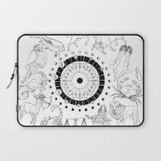 As Above, So Below - Zodiac Illustration Laptop Sleeve