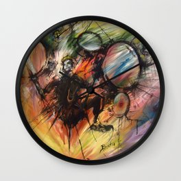 Magnetic North Wall Clock