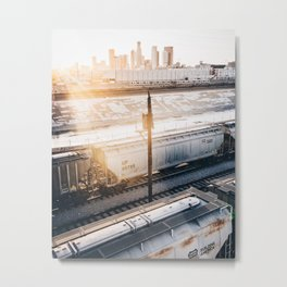 The torrent inside Metal Print
