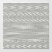 polka Canvas Prints featuring POLKA by Talley Carlston