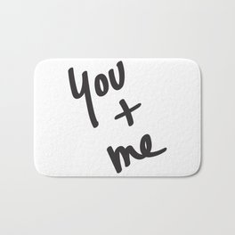 You and Me Bath Mat