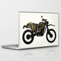 stay gold Laptop & iPad Skins featuring Stay Gold by Ride The Storm