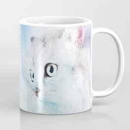 Fluffy starry cat Coffee Mug