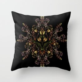 Reflected Spring Throw Pillow