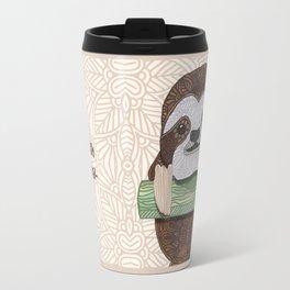 It's a sloth kind of day Travel Mug