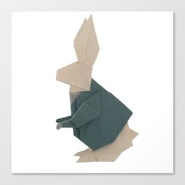 The Rab origami Canvas Print