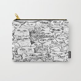 Crazy Cats Carry-All Pouch