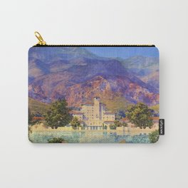 Broadmoor Hotel, Colorado Springs landscape by Maxfield Parrish Carry-All Pouch