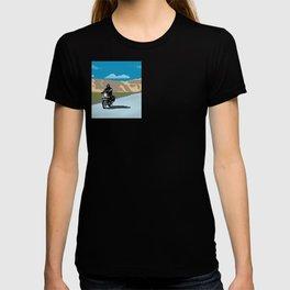 The Royal Enfielder in Ladakh T-shirt