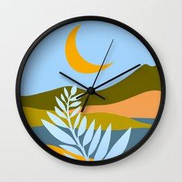 Ojai Nightscape Wall Clock