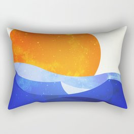 Sun in the Dunes Rectangular Pillow