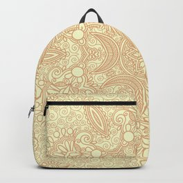 Gloria Tumbleweed Mandala With Corn Field Backdrop Backpack