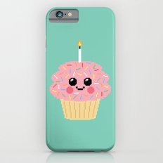 Happy Pixel Cupcake iPhone 6s Slim Case