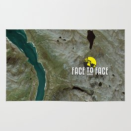 Face To Face - Ape & Man Rug