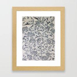 Scatter Brained  Framed Art Print