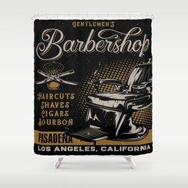 Gentlemen's Barber Shop LA Shower Curtain
