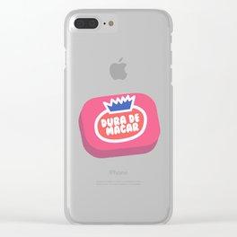 Dura de macar' Clear iPhone Case